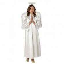 Kostým anděla s křídly a svatozáří