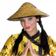 Čínský slaměný klobouk