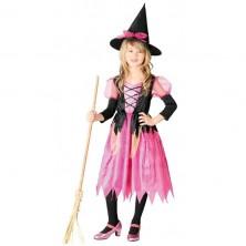 Kostým růžová čarodějnice