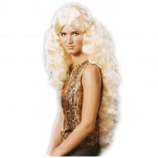 Anděl s flitry - dlouhé vlasy blond