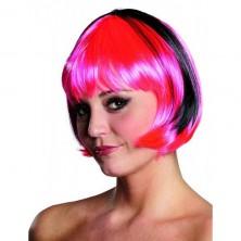 Paruka Trixy černo-růžová