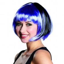 Paruka Trixy černo-fialová