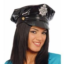 Policejní čepice - vinyl