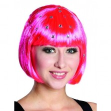 Paruka Diamond Trixy neon-pink