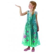 Elsa Fever Dress Frozen Child - Elsa letní kostým - LD 7 - 8 roků
