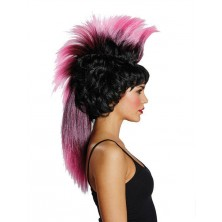 Iro Wig schwarz-pink - paruka