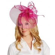 Růžová ozdoba vlasů