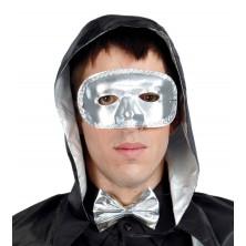 Maska stříbrná