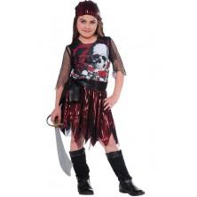 Moonlight pirate - kostým - L 8 - 10 roků