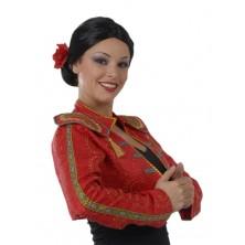 Španělka - dámská paruka s květem