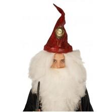 Pirátský klobouk červený