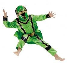 Kostým Power Ranger Green Boxset - licenční kostým
