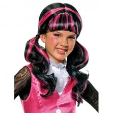 Draculaura Wig - paruka Monster High - licence
