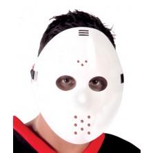 Maska HOCKEY bílá