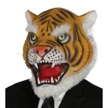 Latexová maska tygra