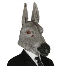 Latexová maska osla