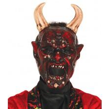 Maska lucifer s rohy