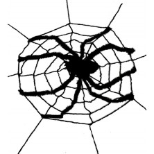 Obří síť s pavoukem 240 x 240cm