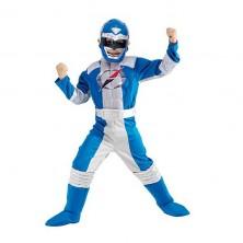 Power Ranger Blue Muscle Chest - licenční kostým