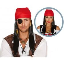 Pirátská paruka unisex