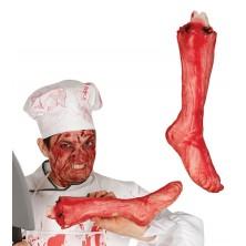 Utržená noha 40 cm