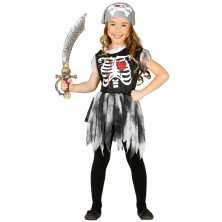 Pirátka - skeleton