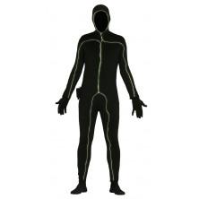 Černá silueta se světelným efektem - muž