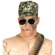 Vojenská maskáčová čepice