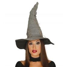 Čarodějnický klobouk šedý