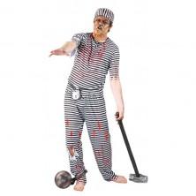 Kostým vězeň - ZOMBIE