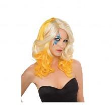 Lady Gaga Blond/Yelloe 2-Tone Wig - licenční paruka