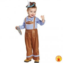 Dětský kostým tyrolák - 104
