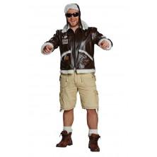 Letecká bunda s čepičkou - 50