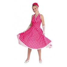 Petticoat dress pink - kostým