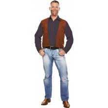 Kovbojská vesta pro dospělé