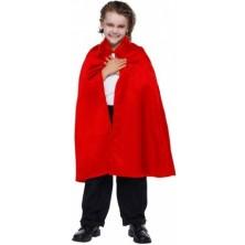 Červený plášť s límcem