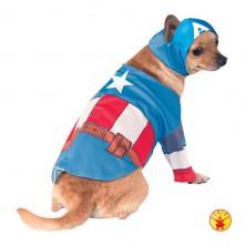 Captain America - kostým pro pejsky