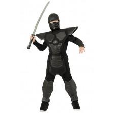 Black Ninja - dětský kostým bojovníka