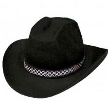 Kovbojský klobouk DALLAS - černá