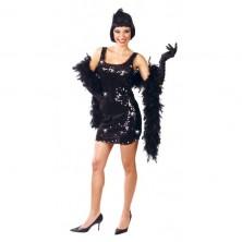 Charleston - černé šaty
