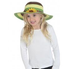 Dětský slaměný klobouk letní
