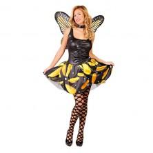 Kostým motýl žlutý