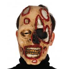 Maska zombie se skvrnami