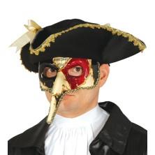 Benátská maska s nosem - muzika