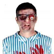 Horor brýle s vypadeným okem