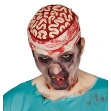 Krvavý mozek s obvazem