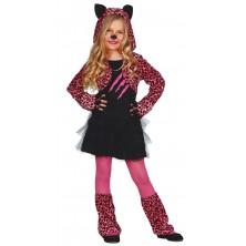 Kostým leopard pink