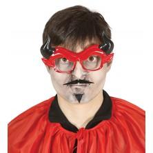 Brýle lucifer s vousy