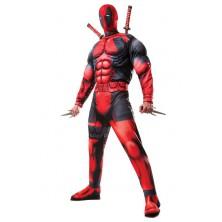 Deluxe Fiber Filled Deadpool - licenční kostým