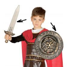 Dětský rytířský set - meč a štít